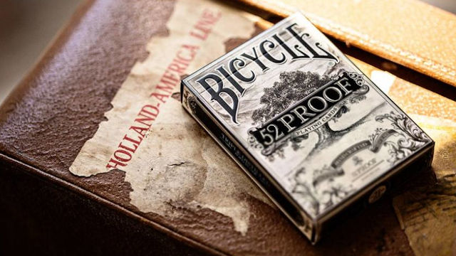 Bicycle 52 Proof designer francia kártya