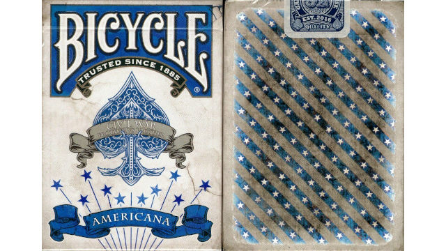 Bicycle Americana Civil War francia kártya