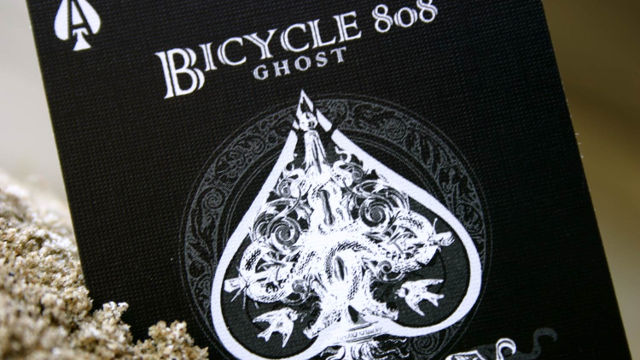 Bicycle Black Ghost 2nd ed. designer francia kártya