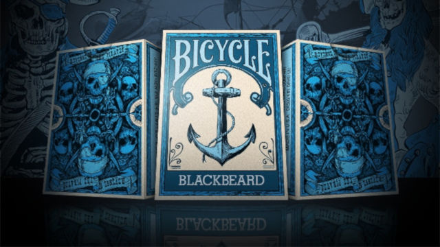 Bicycle Blackbeard designer francia kártya