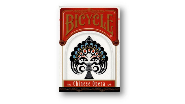 Bicycle Chinese Opera francia kártya