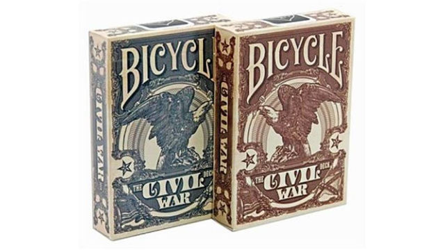 Bicycle Civil War francia kártya